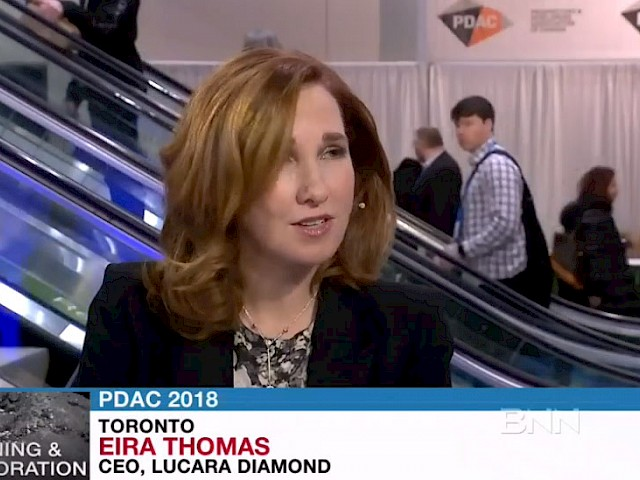 BNN: 'Queen of Diamonds' Eira Thomas sets out to reinvent global supply chain March 2018