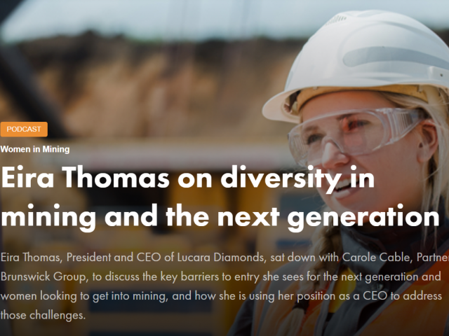 Podcast: Engaging and Empowering the Next Generation of Women and Men in Mining